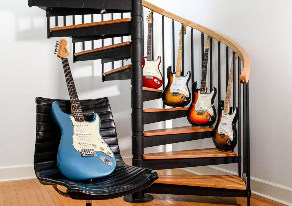 Fender Stratocaster Vintage: ponen a la venta cinco