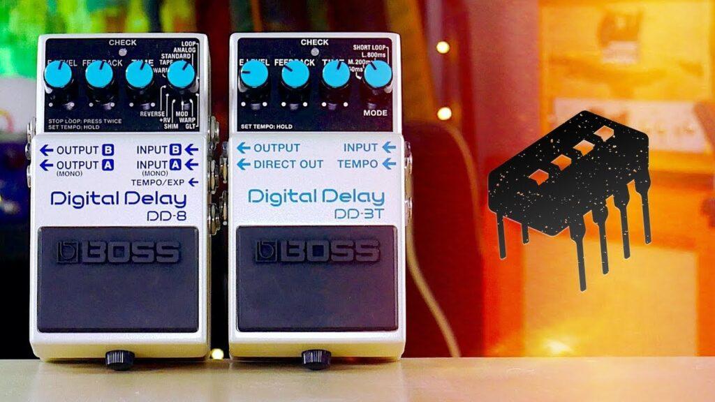 Boss presenta los nuevos Delays DD-3T y DD-8