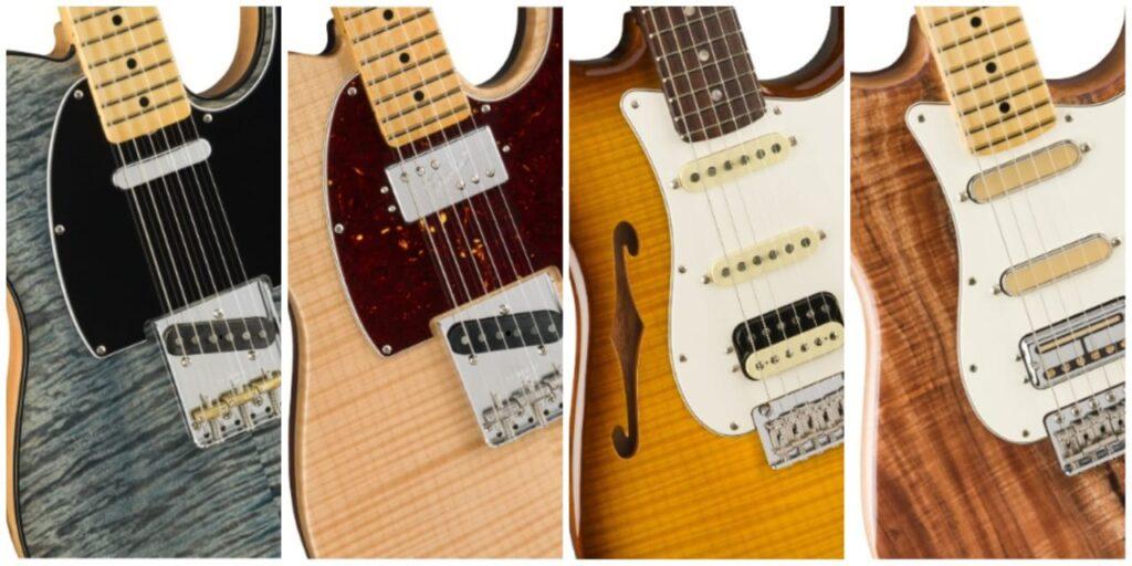 Nuevas Fender Rarities Series, con tapas flameadas