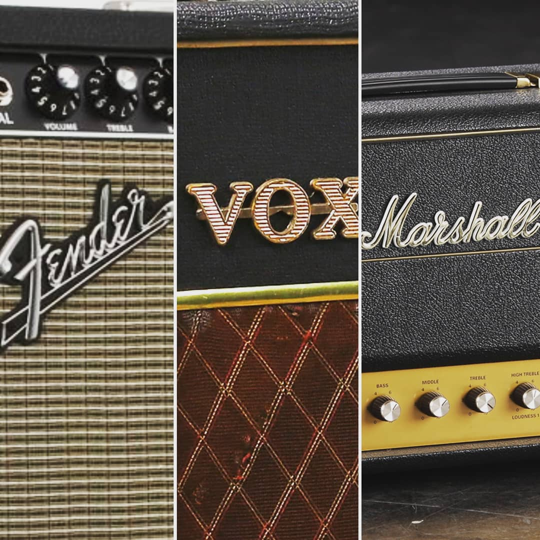 Los mejores amplificadores vintage clásicos: Fender, Vox y Marshall