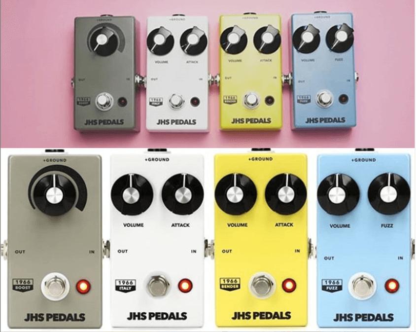 """Nueva JHS Pedals """"1966 Series"""" basada en pedales clásicos"""