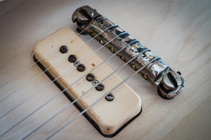 Puente Gibson vintage de Les Paul de 1954.