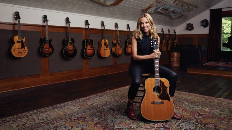 Gibson lanza la 'Sheryl Crow Country Western Supreme'