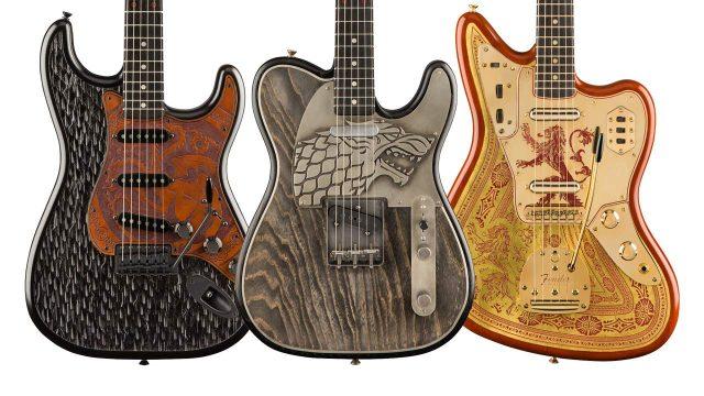 Nuevas Fender Game of Thrones Custom Shop