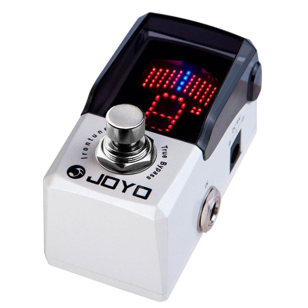 JOYO Irontune JF-326. El pedal afinador de Joyo, robusto y barato.