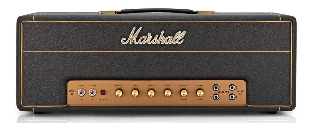 Amplificadores clásicos: foto del Marshall JTM-45 MKII