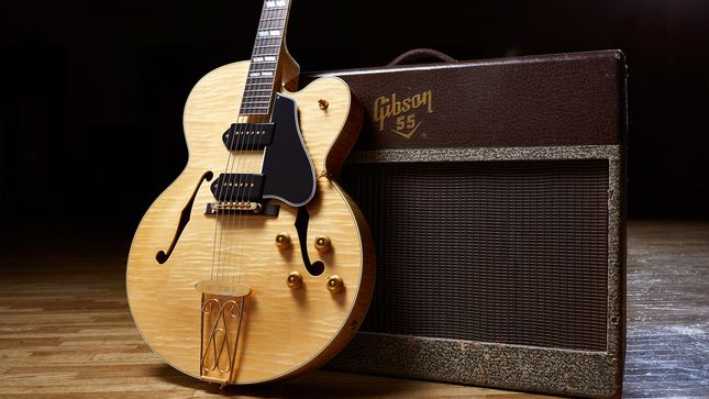 Gibson anunció la nueva ES-350T 1955 Chuck Berry