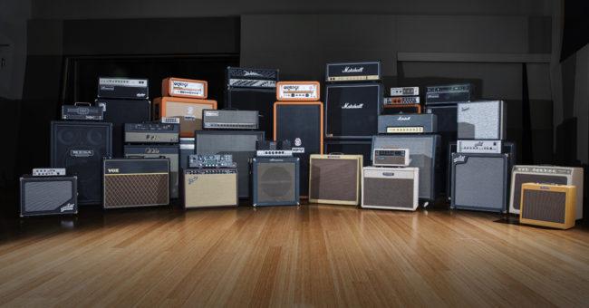 Potencia adecuada de un amplificador de guitarra y bajo