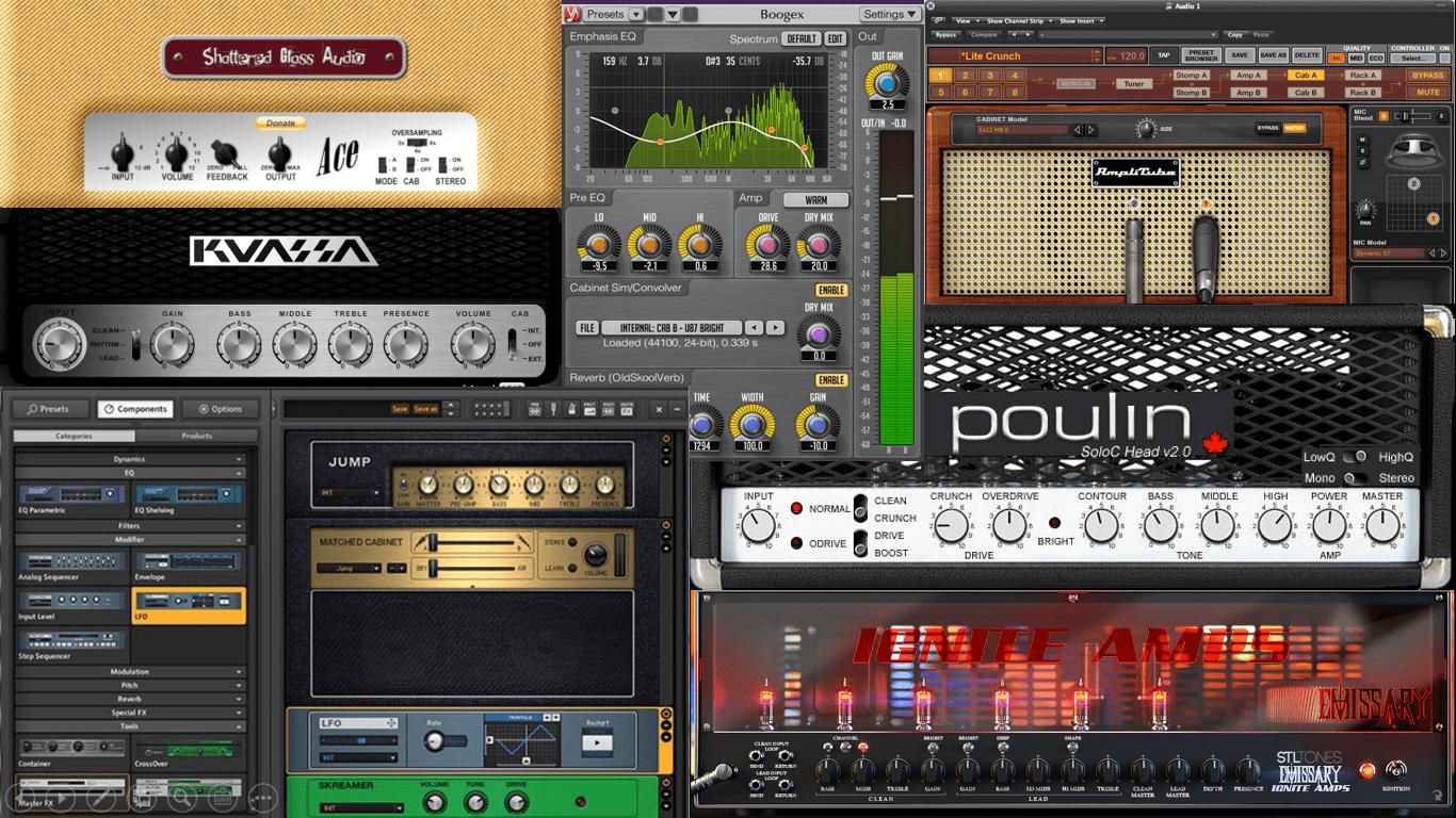 Los mejores simuladores de amplificadores de guitarra gratuitos
