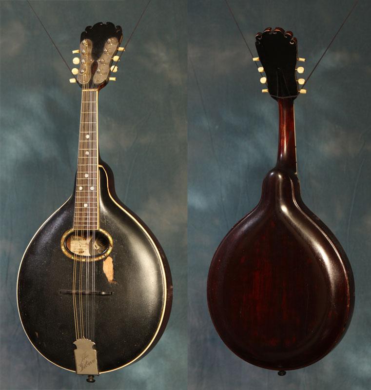 Mandolina hecha por Orvile H. Gibson.