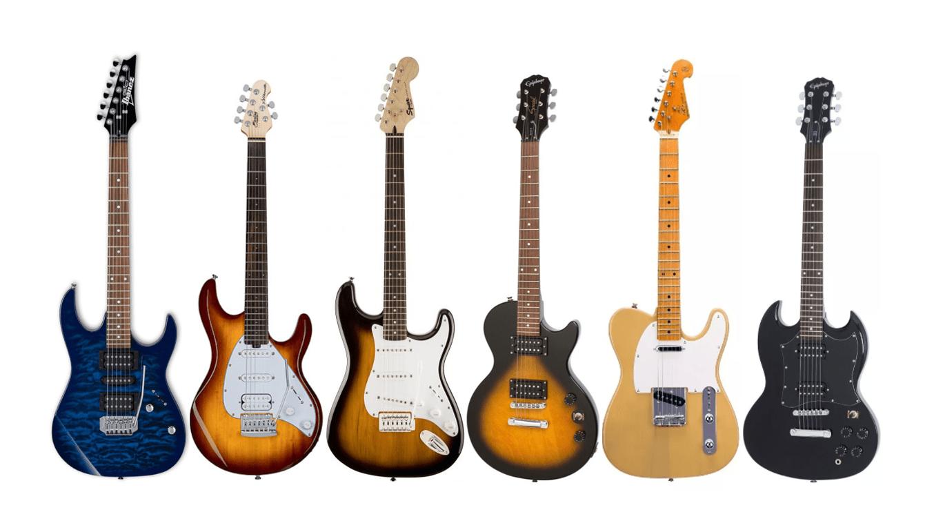 Las mejores 15 guitarras eléctricas baratas para principiantes