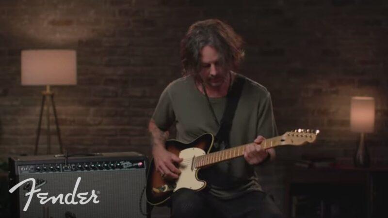 Richie Kotzen prueba el Fender Tone Master Twin Reverb