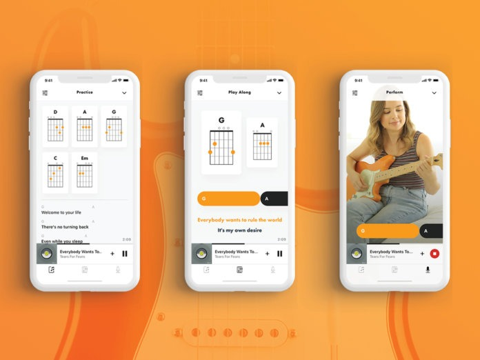 Fender Songs, an application that offers guitar chords and lyrics for more than 750,000 songs of all types of music genre.