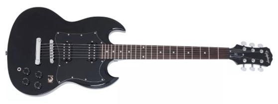Epiphone SG G-310, un clásico al alcance de principiantes por su bajo precio, un instrumento musical con mucha historia.