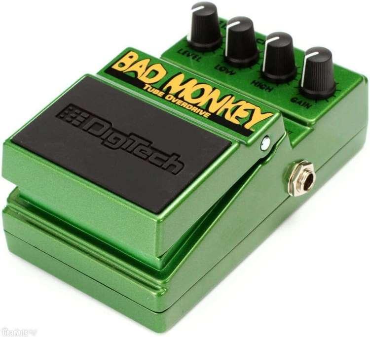 Digitech Bad Monkey: Un pedal basado en el TS9 con dos controles de tono.