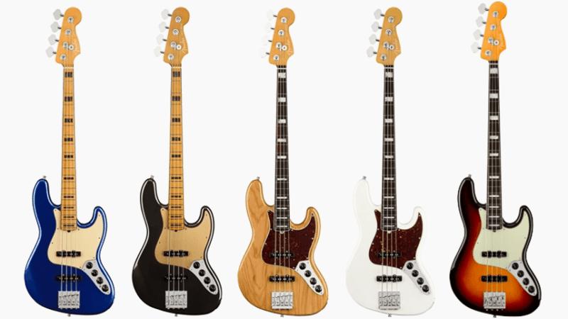 Nuevos Fender Jazz Bass American Ultra