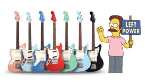 Fender Offset Traditional MIJ Zurdos CME Portada