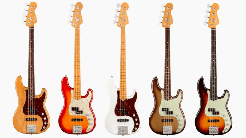 Nuevos Fender Precision Bass American Ultra