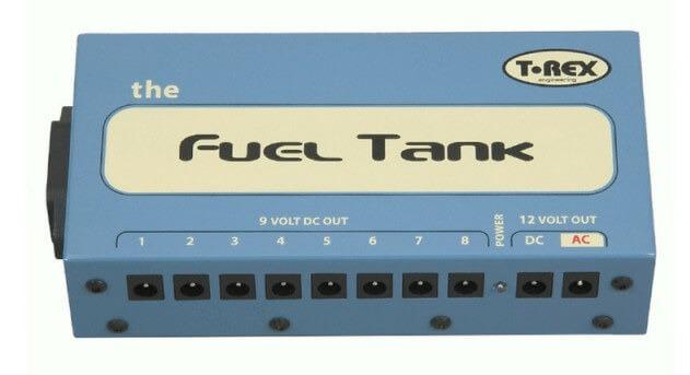 Fuel Tank, fuente de alimentación multiple de pedales.