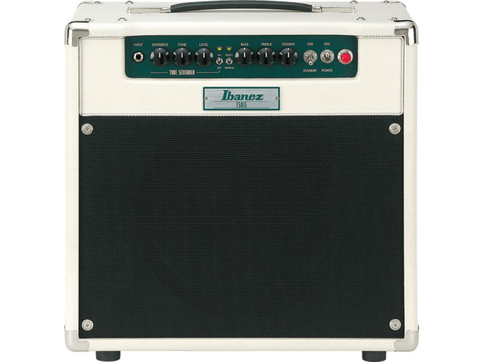 Ibanez TSA15, uno de los mejores amplificadores valvulares de 5 a 15 watts.