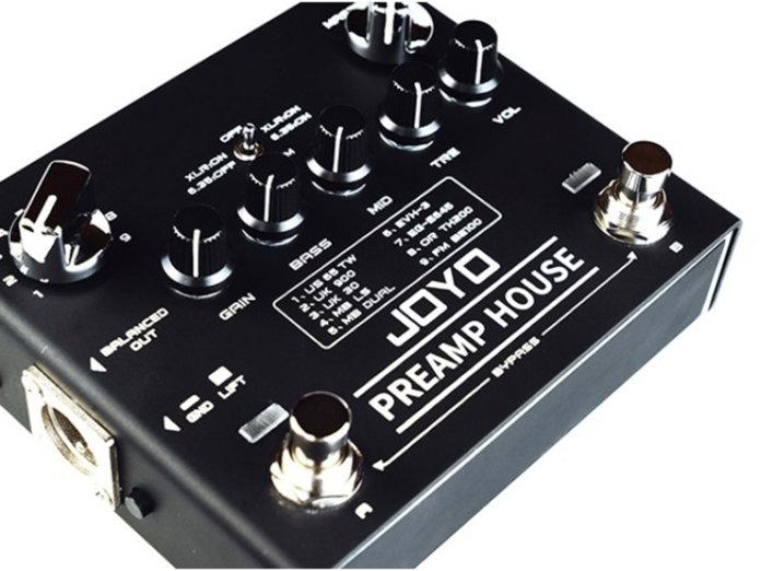 Joyo Preamp House: Nuevo pedal que emula 9 amplificadores