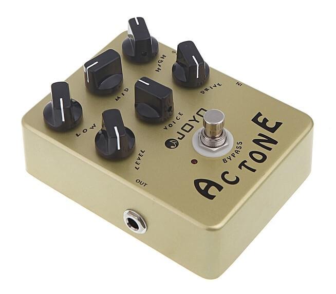 Joyo JF-13 AC Tone: Es un preamp que puede ser usado como Overdrive con excelentes resultados.