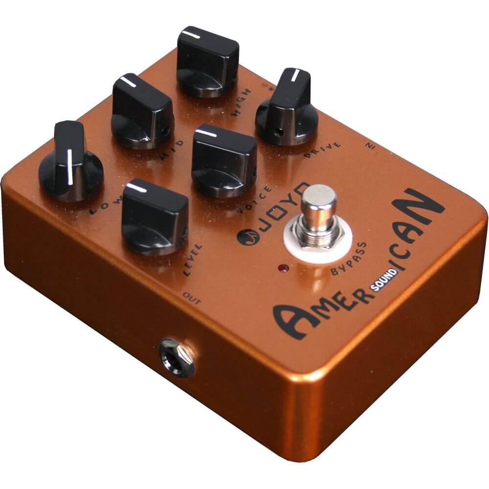 Joyo JF-14 American Sound: Es un preamp que puede ser usado como Overdrive con excelentes resultados.