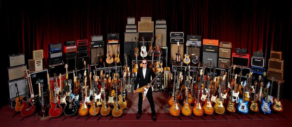 Joe Bonamassa reveló cuantas guitarras y amplificadores tiene su colección
