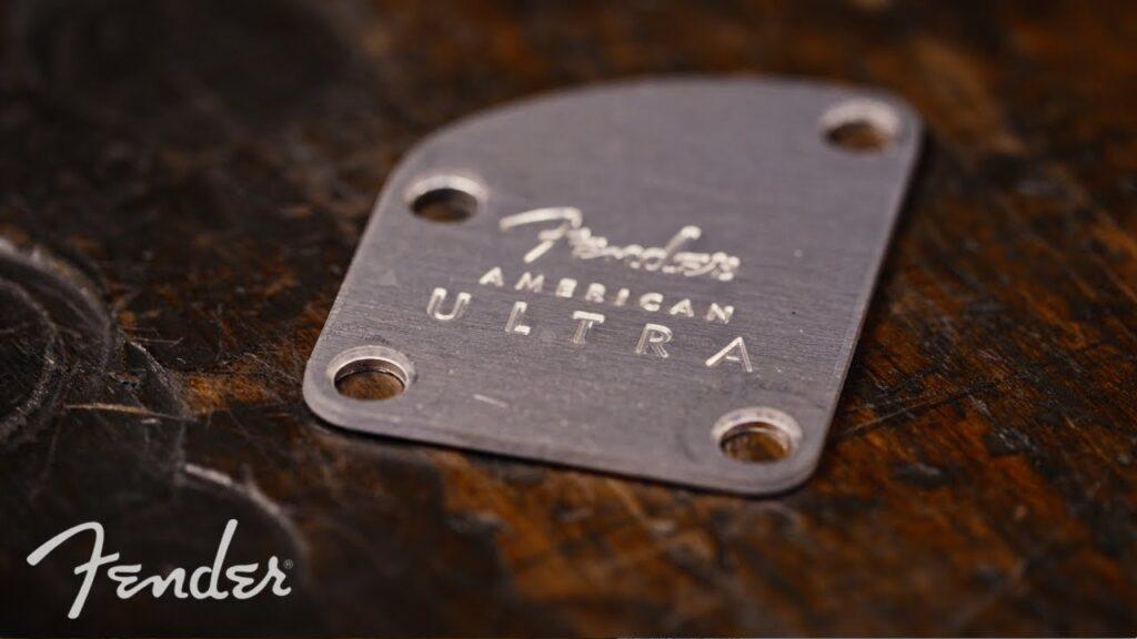 Fender muestra el proceso de fabricación de las American Ultra