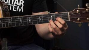 Acordes de guitarra para principiantes para aprender a tocar.