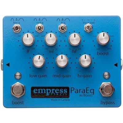 Imágen de Pedal ecualizador paramétrico Empress ParaEq con Boost