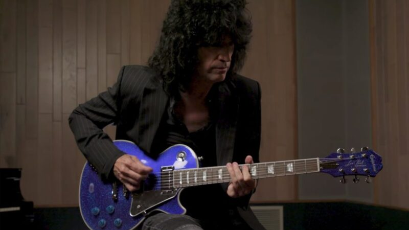 Epiphone lanzó la Les Paul Electric Blue Tommy Thayer