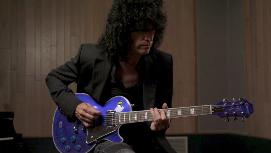 Epiphone lanzó la Les Paul Electric Blue Tommy Thayer