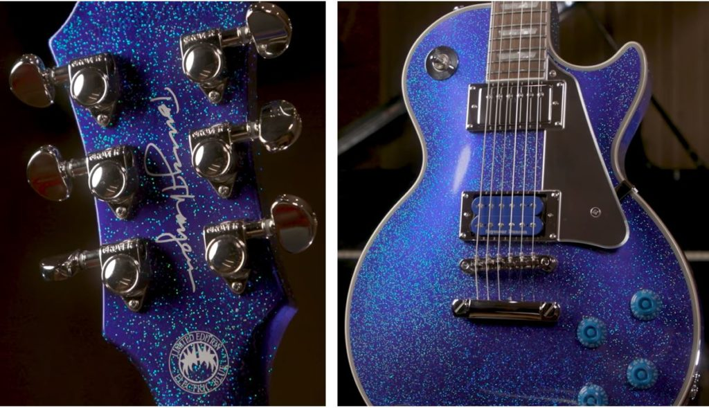 Epiphone Les Paul Electric Blue Tommy Thayer Signature: acabo.