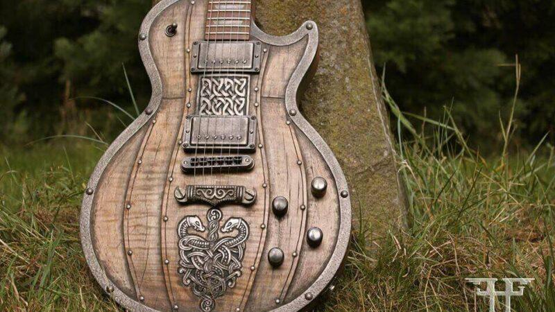 Hutchinson Guitar Concepts: Guitarras medievales, vikingas y más