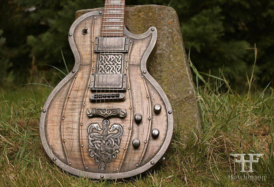 Hutchinson Guitar Concepts: Medieval Guitars, Vikings and More