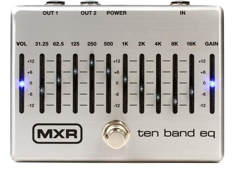 Imágen Pedal Ecualizador Gráfico MXR Ten Band Eq
