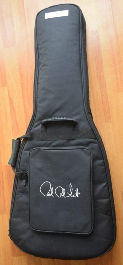Imagen de la excelente funda guitarra PRS tipo mochila de excelente calidad