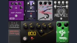 Plug-ins de Pedales de Guitarra de Distorsión, Overdrive y más