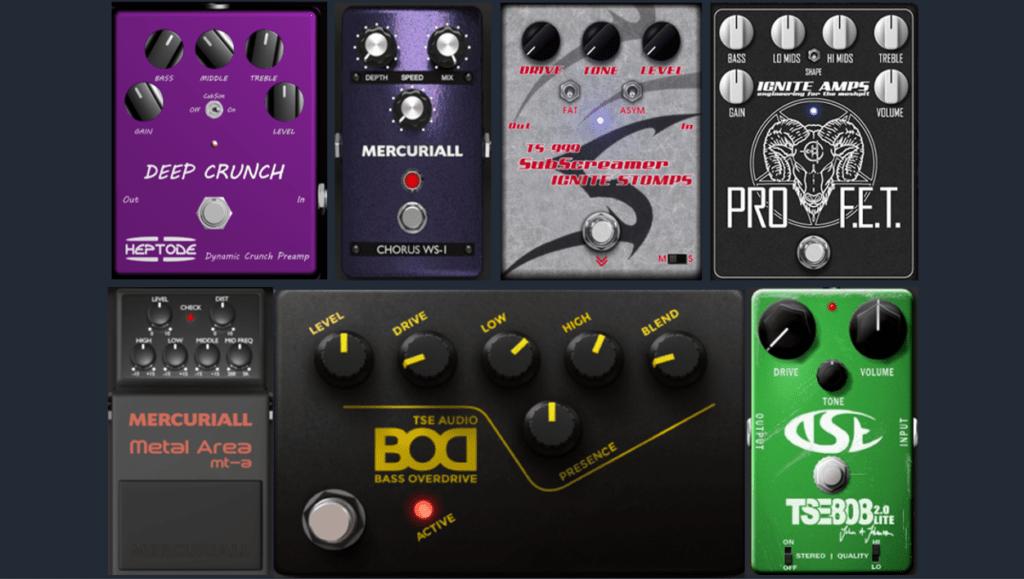 Los mejores plug-ins de pedales de efectos de guitarra gratis