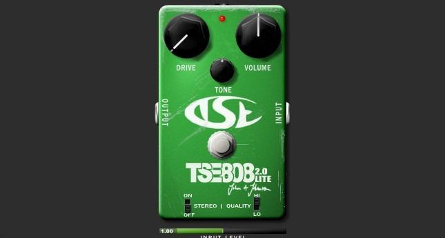 TSE 808, clásico Overdrive.