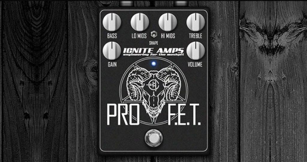 Plug-ins de pedales de guitarra gratuitos: Ignite Amps Pro F.E.T.