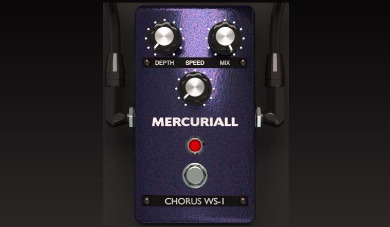 Mercuriall Chorus WS-1 un simulador del Boss CE-1 Chorus Ensemble.