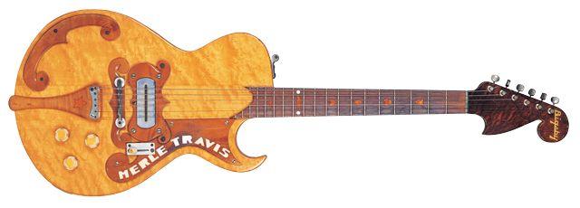 Guitarra sólida Paul Bigsby Merle Travis de 1948