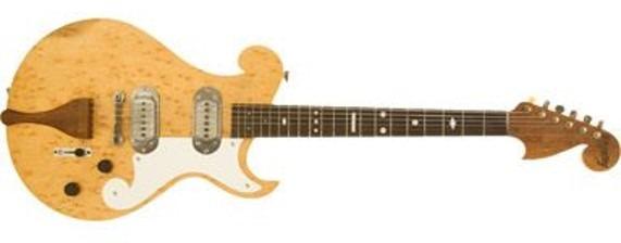 Guitarra Paul Bigsby hecha con Maple Ojo de pájaro de 1949