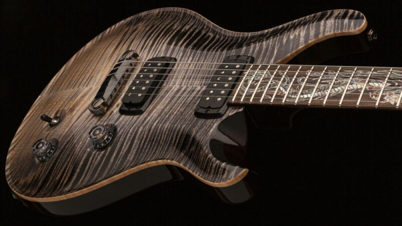 PRS Guitars presentó la guitarra Private Stock Dragon 35th Anniversary