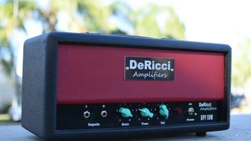 DeRicci Amplifiers Spitfire,  un pequeño valvular todoterreno