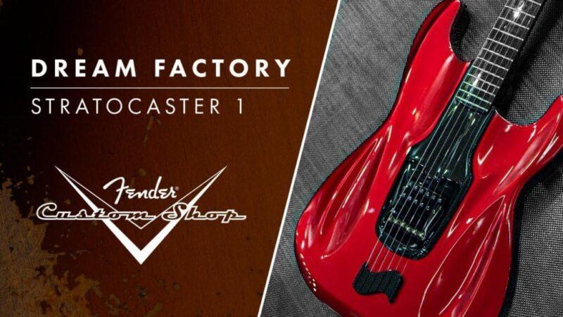 Fender presenta la Dream Factory: guitarras innovadoras