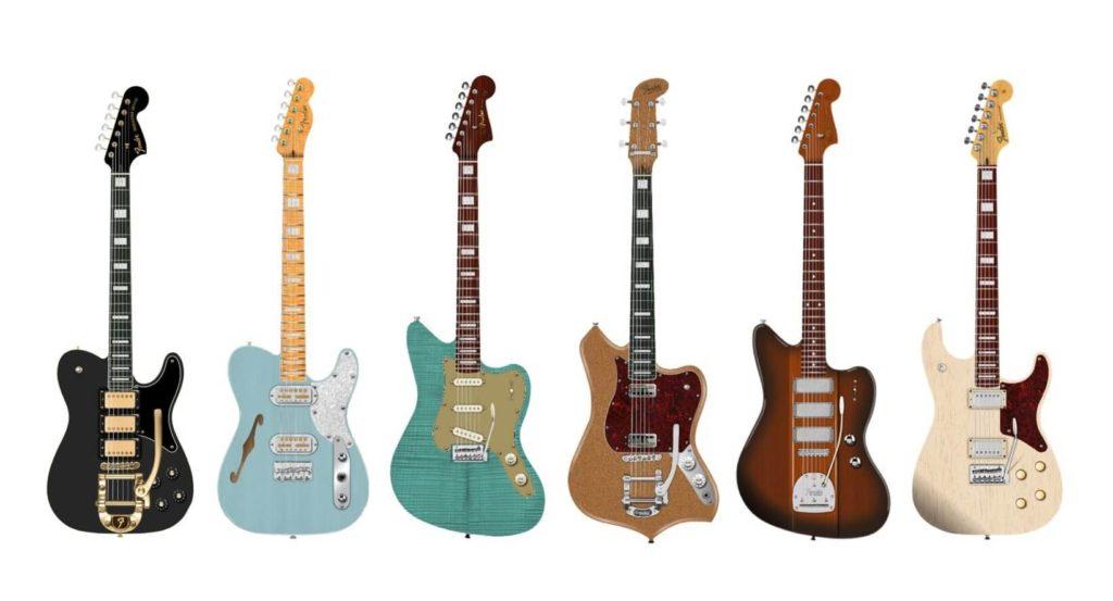 Fender presenta la nueva colección Parallel Universe II