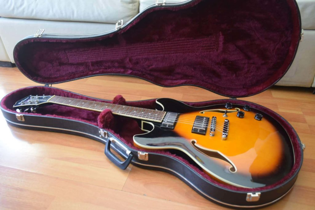 Imagem de Ibanez AS73 Guitar in case.
